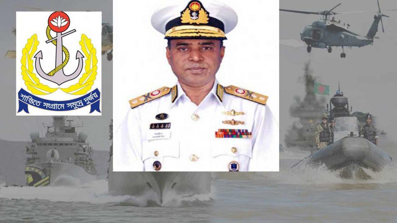 ভাইস অ্যাডমিরাল মোহাম্মদ শাহীন ইকবাল নৌবাহিনীর প্রধান